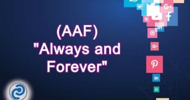 AAF Meaning in Snapchat