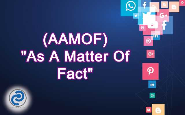 AAMOF Meaning in Snapchat