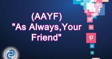 AAYF Meaning in Snapchat