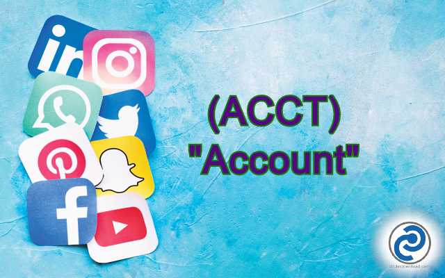 ACCT Meaning in Snapchat,