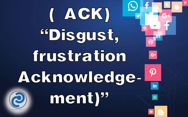 ACK Meaning in Snapchat