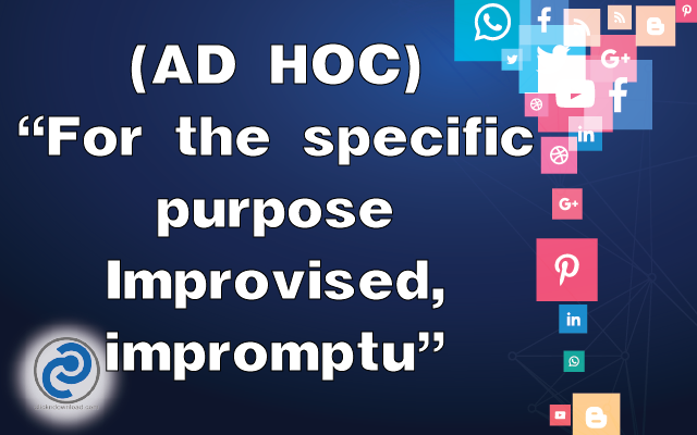 AD HOC Meaning in Snapchat