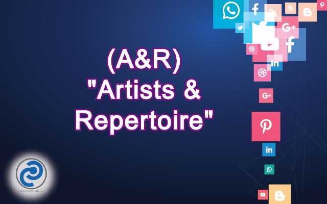 A&R Meaning in Snapchat