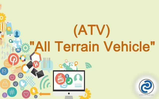 ATV Meaning in Snapchat