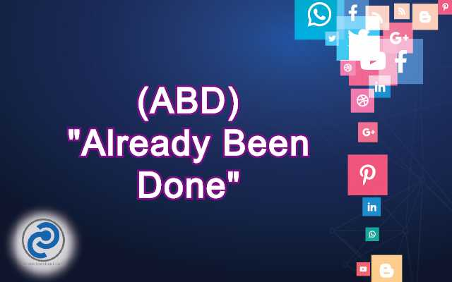 ABD Meaning in Snapchat