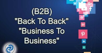 B2B Meaning in Snapchat