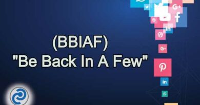 BBIAF Meaning in Snapchat