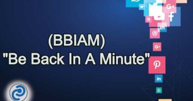 BBIAM Meaning in Snapchat