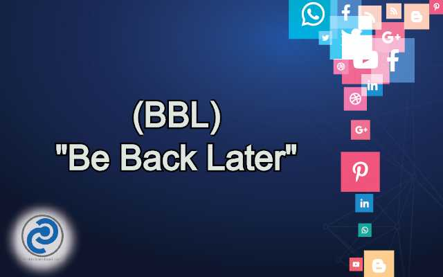 BBL Meaning in Snapchat