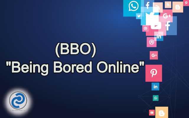 BBO Meaning in Snapchat