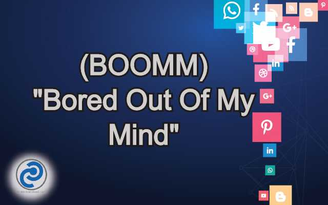 BOOMM Meaning in Snapchat
