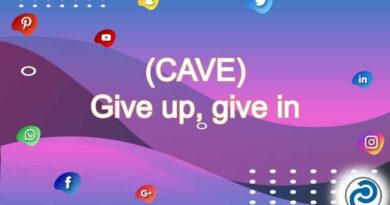 CAVE Meaning in Snapchat