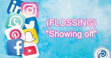 FLOSSING Meaning in Snapchat