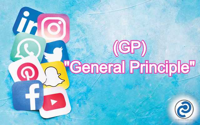 GP Meaning in Snapchat