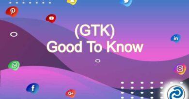 GTK Meaning in Snapchat