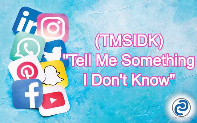 TMSIDK Meaning in Snapchat