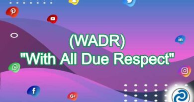 WADR Meaning in Snapchat