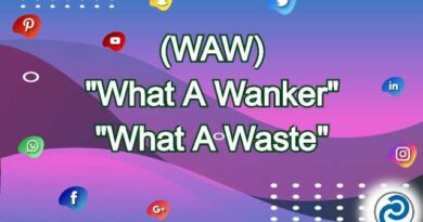 WAW Meaning in Snapchat