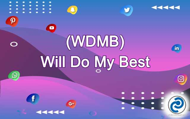 WDMB Meaning in Snapchat