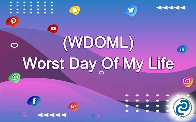 WDOML Meaning in Snapchat