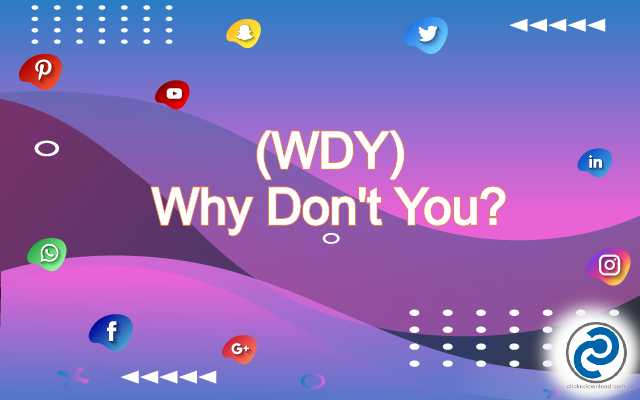 WDY Meaning in Snapchat