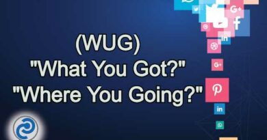 WUG Meaning in Snapchat