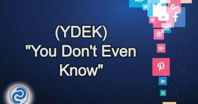 YDEK Meaning in Snapchat