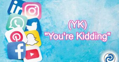 YK Meaning in Snapchat