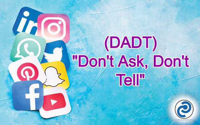 DADT Meaning in Snapchat