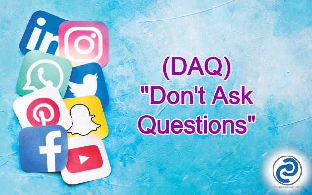 DAQ Meaning in Snapchat