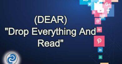 DEAR Meaning in Snapchat