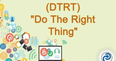 DTRT Meaning in Snapchat