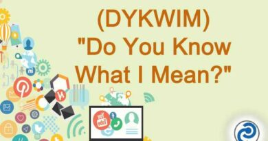 DYKWIM Meaning in Snapchat