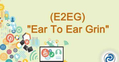 E2EG Meaning in Snapchat