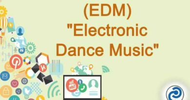 EDM Meaning in Snapchat