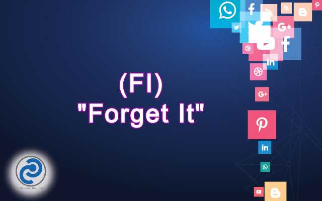 FI Meaning in Snapchat