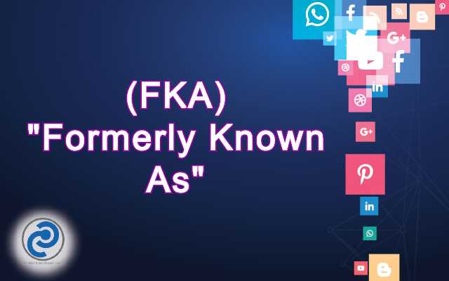 FKA Meaning in Snapchat