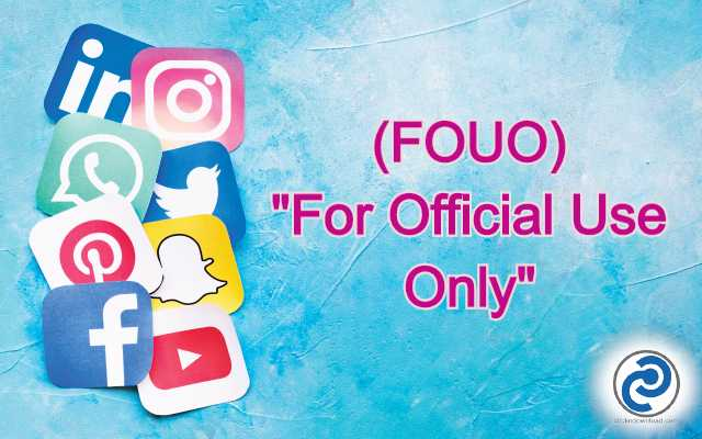 FOUO Meaning in Snapchat