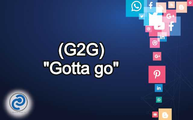 G2G Meaning in Snapchat