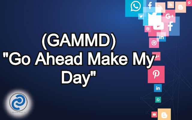 GAMMD Meaning in Snapchat