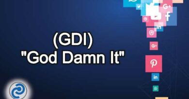 GDI Meaning in Snapchat