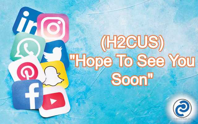H2CUS Meaning in Snapchat