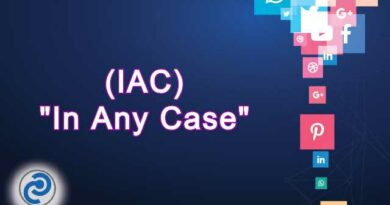 IAC Meaning in Snapchat