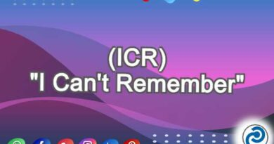 ICR Meaning in Snapchat