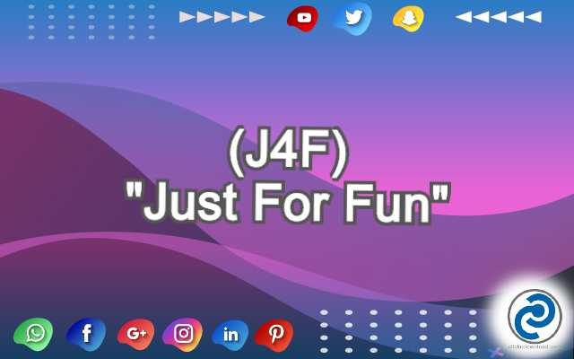 J4F Meaning in Snapchat