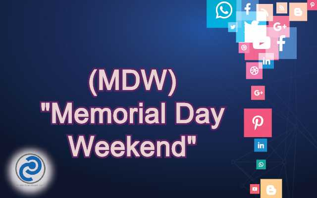 MDW Meaning in Snapchat