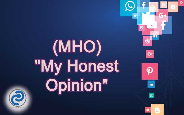 MHO Meaning in Snapchat