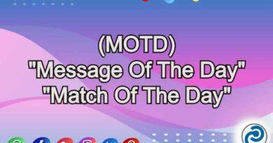 MOTD Meaning in Snapchat