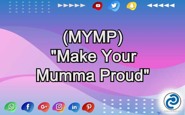 MYMP Meaning in Snapchat
