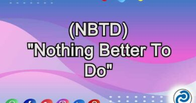 NBTD Meaning in Snapchat